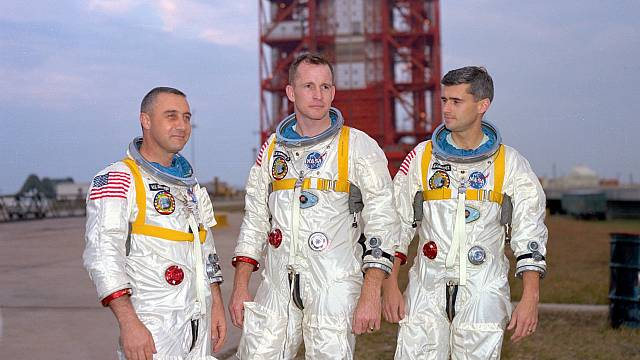 Posádka Apollo 1 - Grissom, White, Chaffee