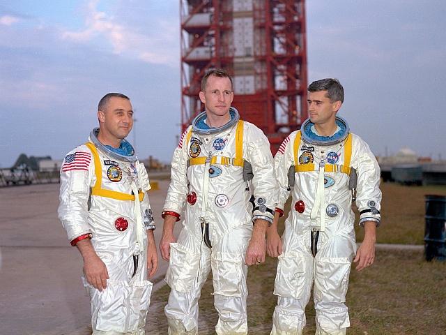 Posádka Apollo 1 - Grissom, White, Chaffee