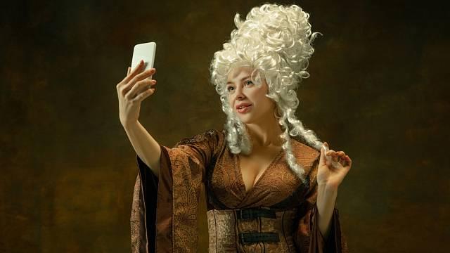 Ideál krásy se v průběhu staletí značně měnil.