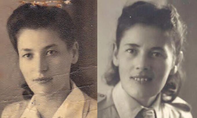 První dívky ze Slovenska, které byly transportovány do Osvětimi