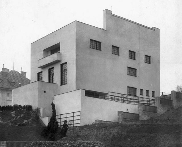 Müllerova vila vpražských Střešovicích (1930)