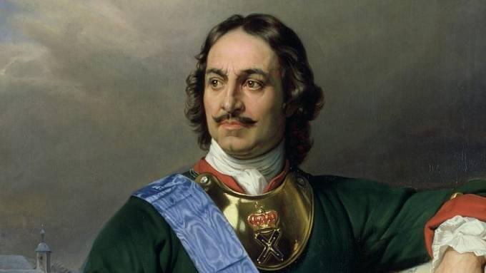 Ruský car Petr I. Veliký, známý též jako Petr Alexejevič