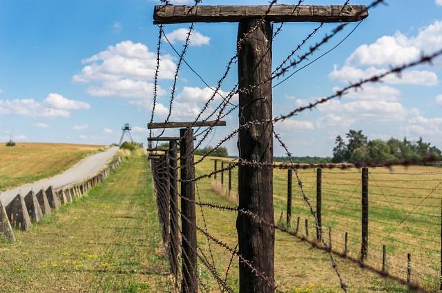 Československo bylo zemí za železnou oponou