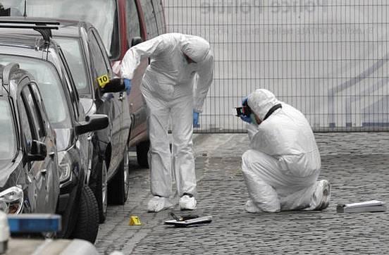 24. 5. 2014, Brusel, Belgie, 4 mrtví