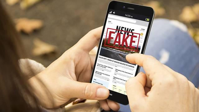 Fake news, ilustrační foto