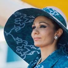Královna Farah Pahlaví byla svého času módní ikonou Íránu.