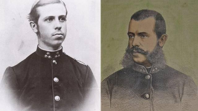 Jan Salvátor Toskánský (Johann Orth) jako mladý a později zralý muž
