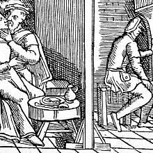 Nevěra byla již ve středověku námětem satirických písní a kreseb.