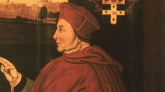 Nad nemocí zvítězil i kancléř Thomas Wolsey.