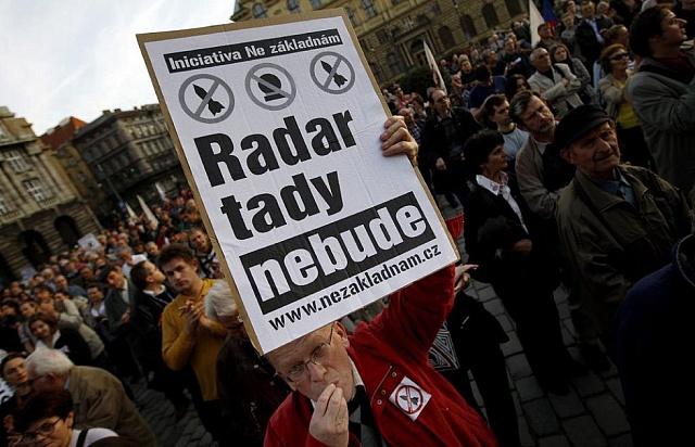 Zvažovaný americký radar vBrdech vzbudil vČesku vlnu protestů