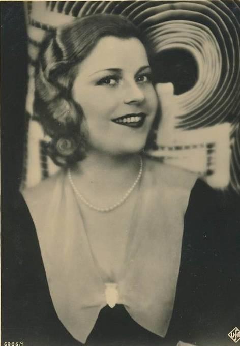 Německá herečka Renata Müllerová byla ve 30. letech 20. století velmi populární