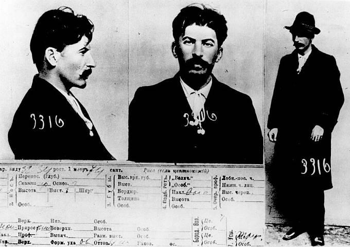 Z kartotéky carské policie v Petrohradě, 1911
