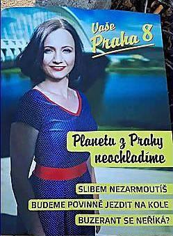 Kampaň ODS v Praze 8