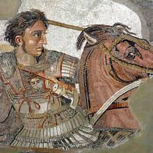 Hrob Alexandra Velikého. Už staletí se pátrá po hrobu nejslavnějšího krále starověku Alexandra Velikého. Panovník zemřel roku 323 př. n. l. ve věku 33 let v Babyloně, pohřben byl údajně v mauzoleu v Egyptě. Další osud ostatků je ale neznámý.