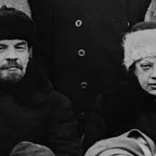 V.I. Lenin a Naděžda Krupská