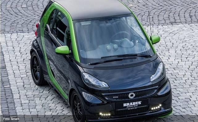 Smart Fortwo ED. Nový model má přijít na konci roku 2016.