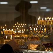 Sedmiramenný svícen, symbol židovství
