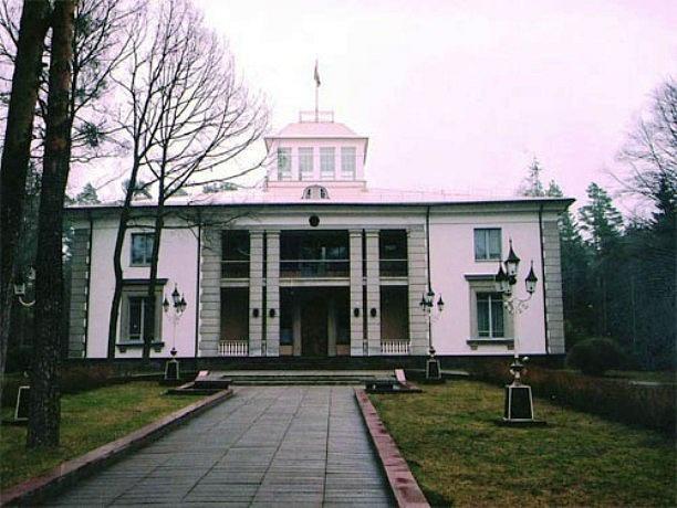 Vládní dača ve Viskuli uprostřed Bělověžského pralesa vBělorusku