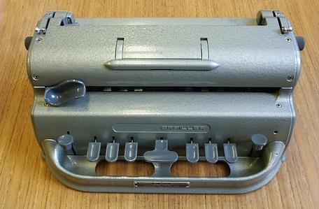 Braillský psací stroj
