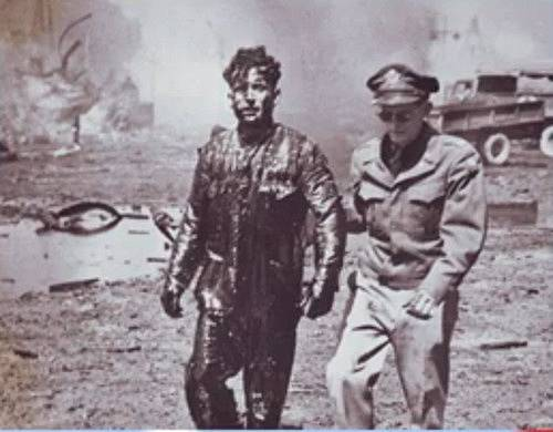 Vojáci dlouho netušili, že se otrávili yperitem.