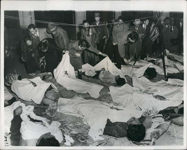 Oběti katastrofy Toya Maru