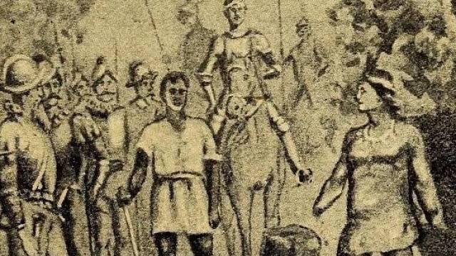 Trest pro zajatce byl krvavý: odstranění ruky a nosu a pro velitele odstranění obou ruk