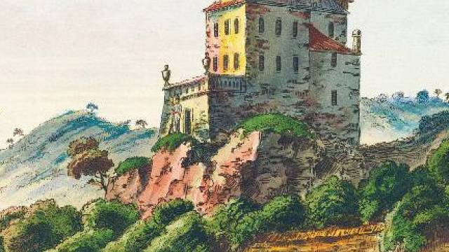 Libeňský zámeček Šilboch v roce 1830