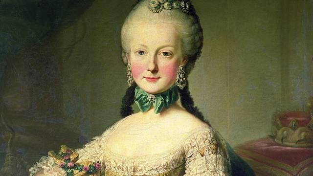 Portrét arcivévodkyně Marie Alžběty
