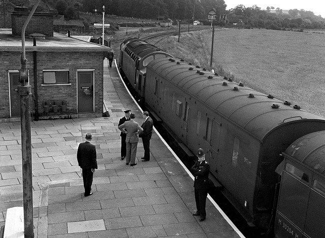 Velká vlaková loupež se odehrála 8. srpna 1963