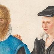 Petrus Gonsalvus a manželka Catherine