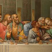 Da Vinciho Poslední večeře.