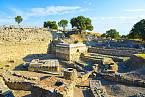 Údajné pozůstatky starověké Tróje v tureckém městě Canakkale.