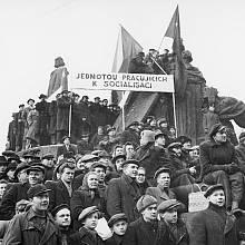únorový komunistický převrat