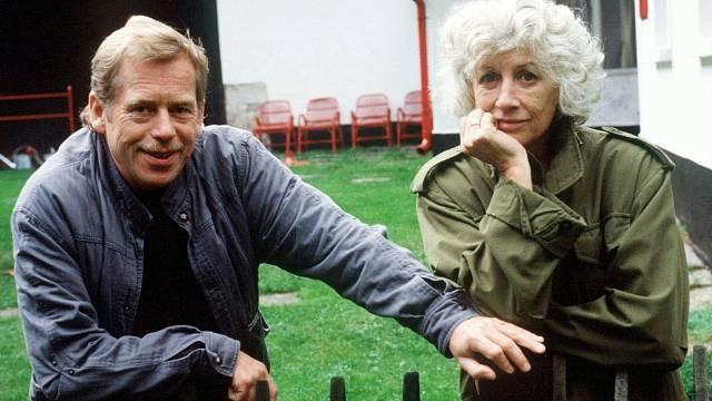 Václav Havel s Olgou