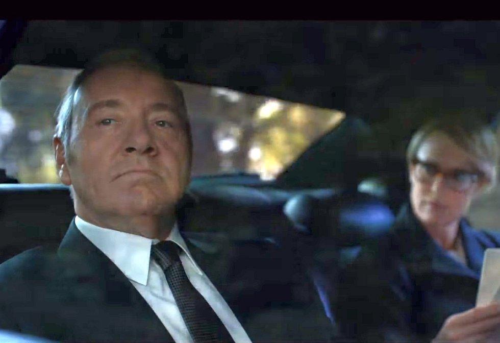 Frank Underwood bude v nové řadě seriálu ještě děsivější.