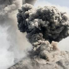 vulkán Anak Krakatoa, přímý pozůstatek Krakatoy