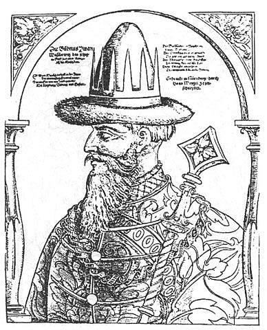 vyobrazení Ivana IV. přezdívaného Hrozný