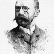 Josef Kaizl v roce 1886