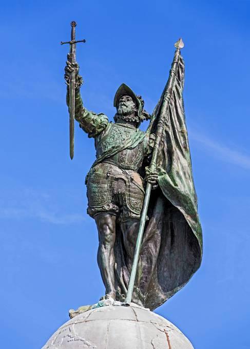 Vasco Nuñez de Balboa - panamský památník