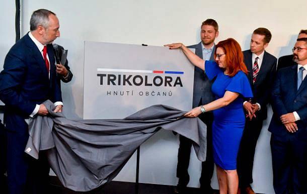 Václav Klaus ml. představil v pondělí 10. června nové politické hnutí Trikolora