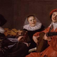 """Obraz """"Koncert"""" nizozemské malířky Judith Leysterové se stal jedním z nejslavnějších zobrazení """"lidské spodiny"""" 17. století. Zuby odhalené v úsměvu se v té době považovaly za typický znak nižších vrstev"""