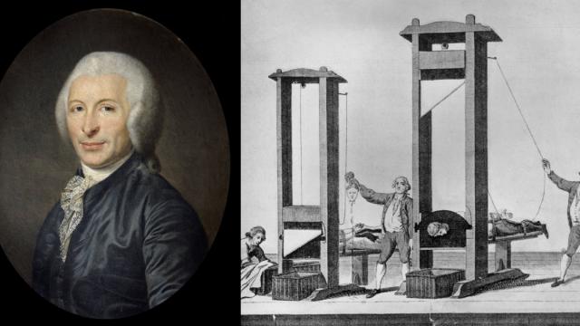 Vynálezce popravčího nástroje lékař Joseph Ignace Guillotin