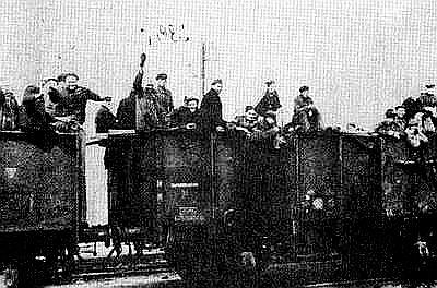Transport do Terezína