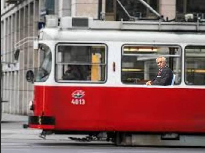 Miloš Zeman coby zapomenutý cestující