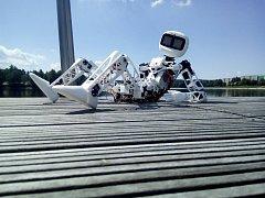 Robot Matylda se chystá vyrazit na cestu po republice