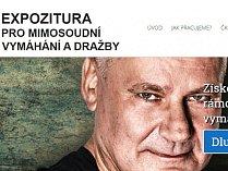 Jiří Kajínek v reklamě vymahačské firmy