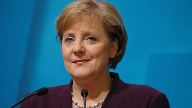 Angela Merkelová v prosinci 2005 jako čerstvá kancléřka.