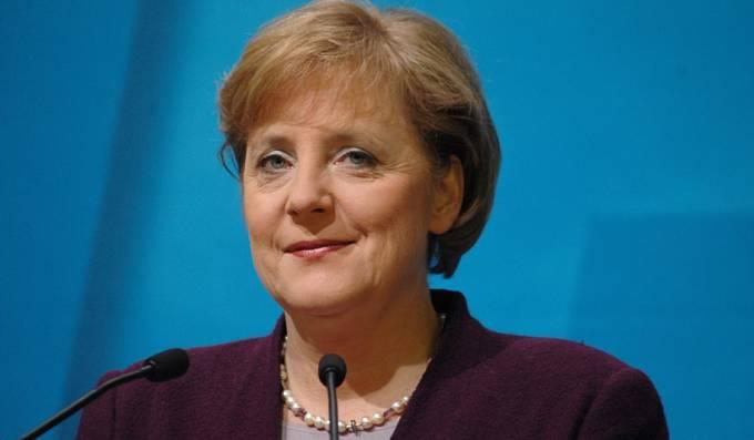 Angela Merkelová v prosinci 2005 jako čerstvá kancléřka