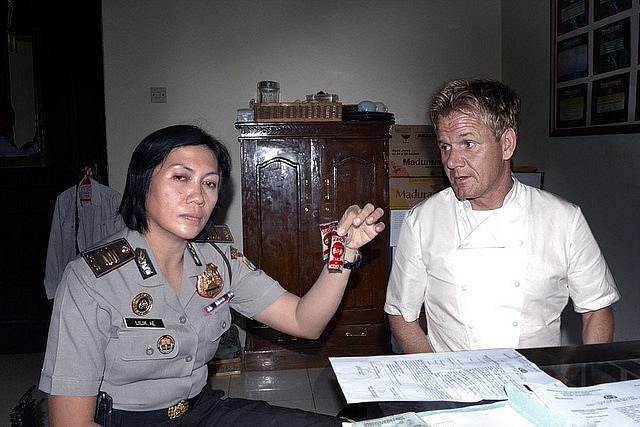 Gordon Ramsay v rukách policie