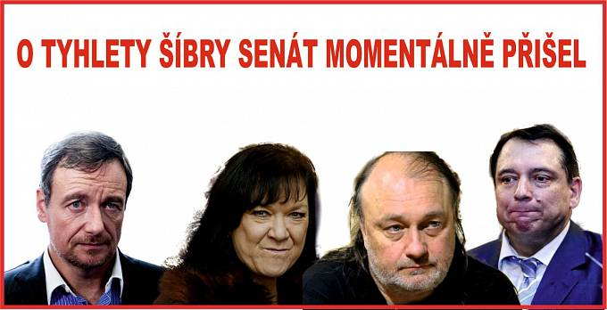 """""""Český politický Mordor do Senátu neprošel"""""""